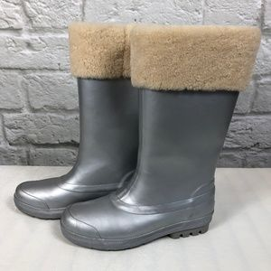 UGG Mill Creek Sterling Silver Wellie Rainboots